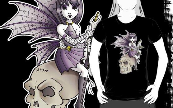 Goth Fairy by cybercat