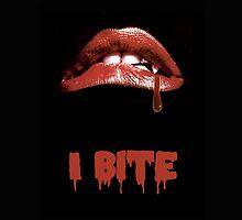 """Rocky Horror Style """"I Bite"""" Vampire Mouth by Framerkat"""