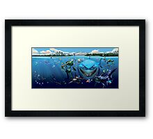Disney, Finding Nemo and Friends Framed Print