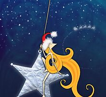Kazart Phoebe 'Super Star Christmas' by Karen Sagovac
