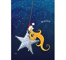Kazart Phoebe 'Super Star Christmas' Photographic Print