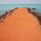 Red Sand Road to the Sea by Jennifer Heseltine