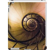 Spiral Staircase in the Arc de Triomphe iPad Case/Skin