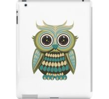 Star Eye Owl - Green 2 iPad Case/Skin