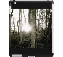 Through the Trees We Greet a New Tomorrow iPad Case/Skin