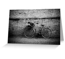 Classic on the Wall B&W Greeting Card