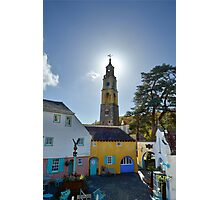 The Bell Tower at PortMeirion Photographic Print