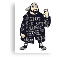 The Works Of Kevin Smith Canvas Print