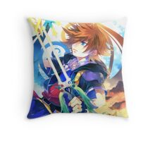 Kingdom Hearts - Sora Throw Pillow