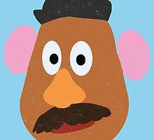 Mr. Potato (Minimalism (All product colour work!)) by 24julien