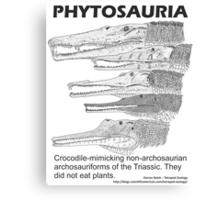 Phytosaurs! Canvas Print
