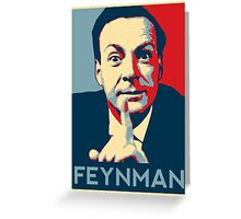Richard P. Feynman, Theoretical Physicist Greeting Card