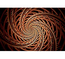 Abstract - Spiral - Mental roller coaster Photographic Print