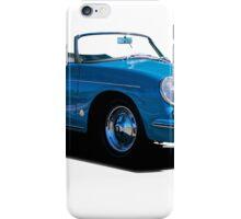 1960 Porsche 356 Cabriolet iPhone Case/Skin