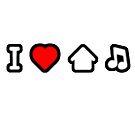 I Love House Music by fleros
