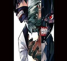 Kaneki's second nature - Tokyo Ghoul ; only twin by DarkChild