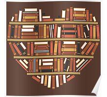 I Heart Books Poster