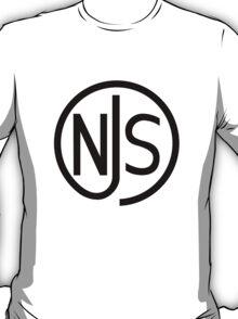 NJS stamp (black print) T-Shirt