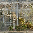 The Italian Garden in Autumn by Marilyn Cornwell