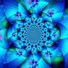 Blue Flower by George Hunter