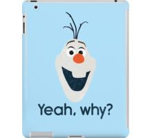Olaf! iPad Case/Skin