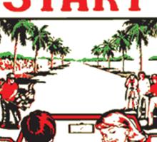 Vintage Video Game T-shirt Sticker
