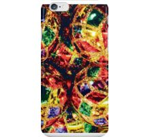 Viennese Glass Ornaments Card iPhone Case/Skin
