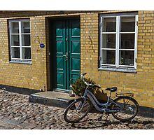 Bicycles of Aero 7 Photographic Print