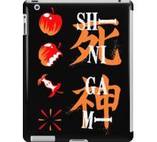 Tshirt Shinigami - Tshirt Manga iPad Case/Skin