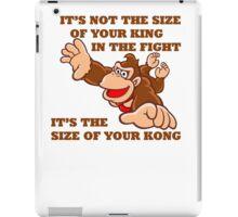 Donkey Kong King Size iPad Case/Skin