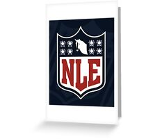 National League of Evil Greeting Card
