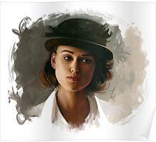 Keira Knightley fanart digital painting  Poster