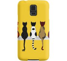 Fence sitters (Gold) Samsung Galaxy Case/Skin
