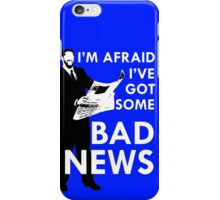 Bad News Barrett  iPhone Case/Skin