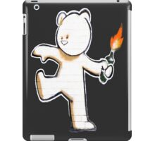 Banksy - The Mild Mild West iPad Case/Skin