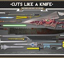 Cuts Like a Knife by Daniel McLaren
