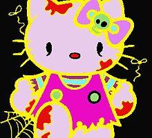 Zombie Hello Kitty  by Presiosa04