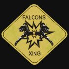 Falcons Xing by thelonevoice