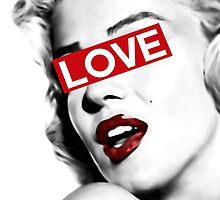 Marilyn Monroe by VisualVibes