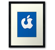 Apple Headphones Framed Print