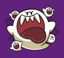 Vintage Super Mario World - Boo Ghost by Stoofie