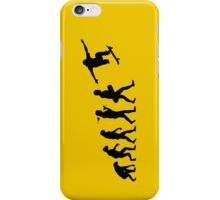 Evolve to skate iPhone Case/Skin