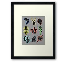 Sigils Framed Print