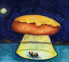 A Cheesy Bread Citing by Katrina Larock