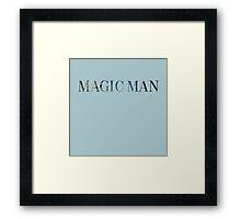 Magic Man--Arch Rock Framed Print