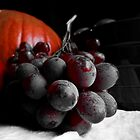 Dark Grapes by Sandra  Aguirre