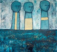 The Procession by Leonie Leivenzon