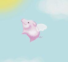 Flying Pig by Billie Kleinbauer