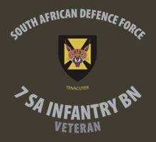 SADF 7 SA Infantry Battalion Veteran Shirt by civvies4vets