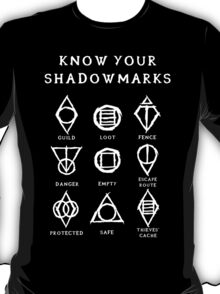 Know Your Shadowmarks (Light) T-Shirt